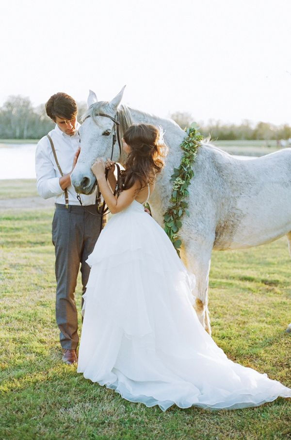 Rustic Ranch Wedding by Christianne Taylor | Southern Weddings