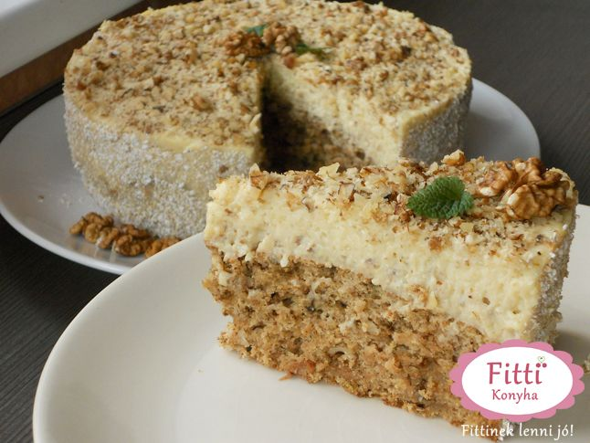 Diós-vaníliás almatorta - Mennyei finom, mutatós, otthon is elkészíthető és még…