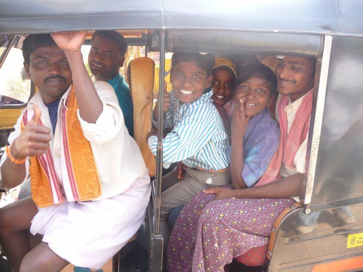 Auto Rickshaw – Family Transport