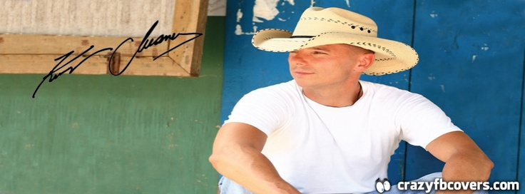 Kenny Chesney Signature Facebook Cover - Facebook Timeline Cover Photo - Fb Cover