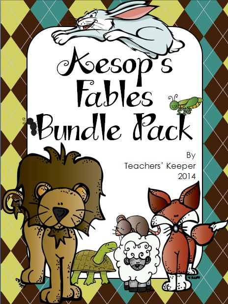 6 Different Fables With Readers Theater Scripts And Over 75 Pages Of Literacy Activities The Lion Mouse Fox Crow Boy Who Cried Wolf