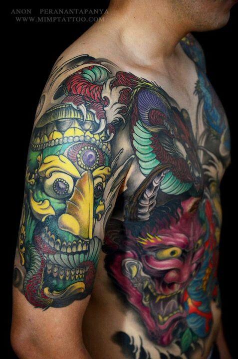 Henna Tattoo In Bangkok: Weird Tattoos, Yakuza Tattoo, Tattoos