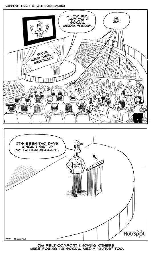 #FloFriday Social media humor from Hubspot www.creationsocialmedia.com