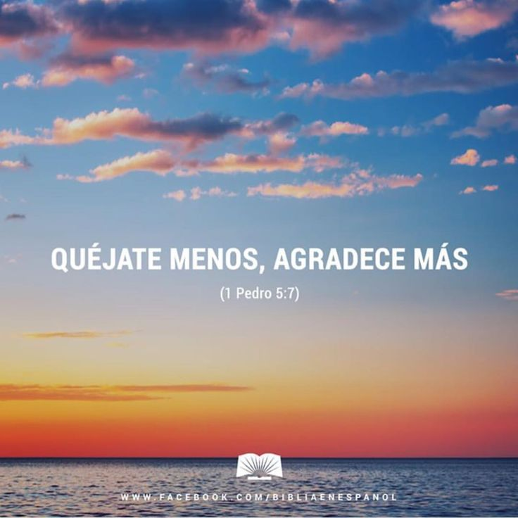 Biblia en Español - Descarguen en él todas sus angustias, porque él...