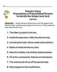1000+ images about Teaching Grammar on Pinterest | Prepositional ...