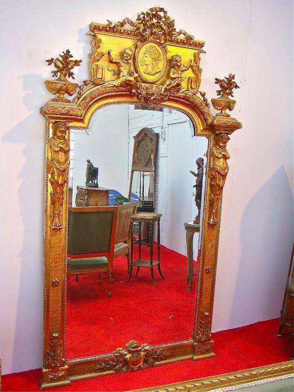 Антикварные и странинные зеркала из Европы с доставкой   Историческая справедливость - экспресс