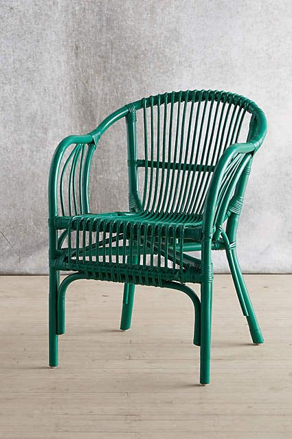 Breakfast dining table chair Pari Rattan Chair - anthropologie.com   these are actually comparable in price to the Ikea rattan.