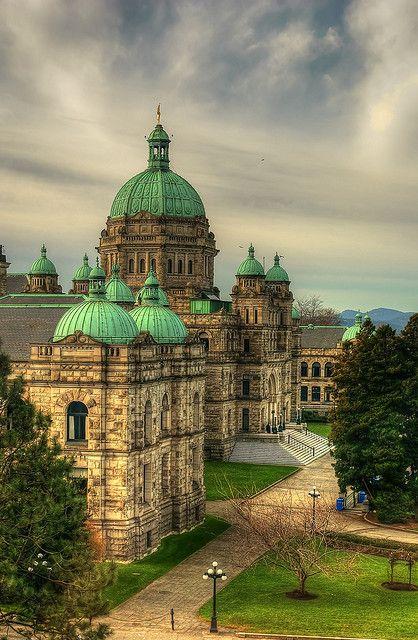 The British Columbia Legislature Victoria, British, Columbia