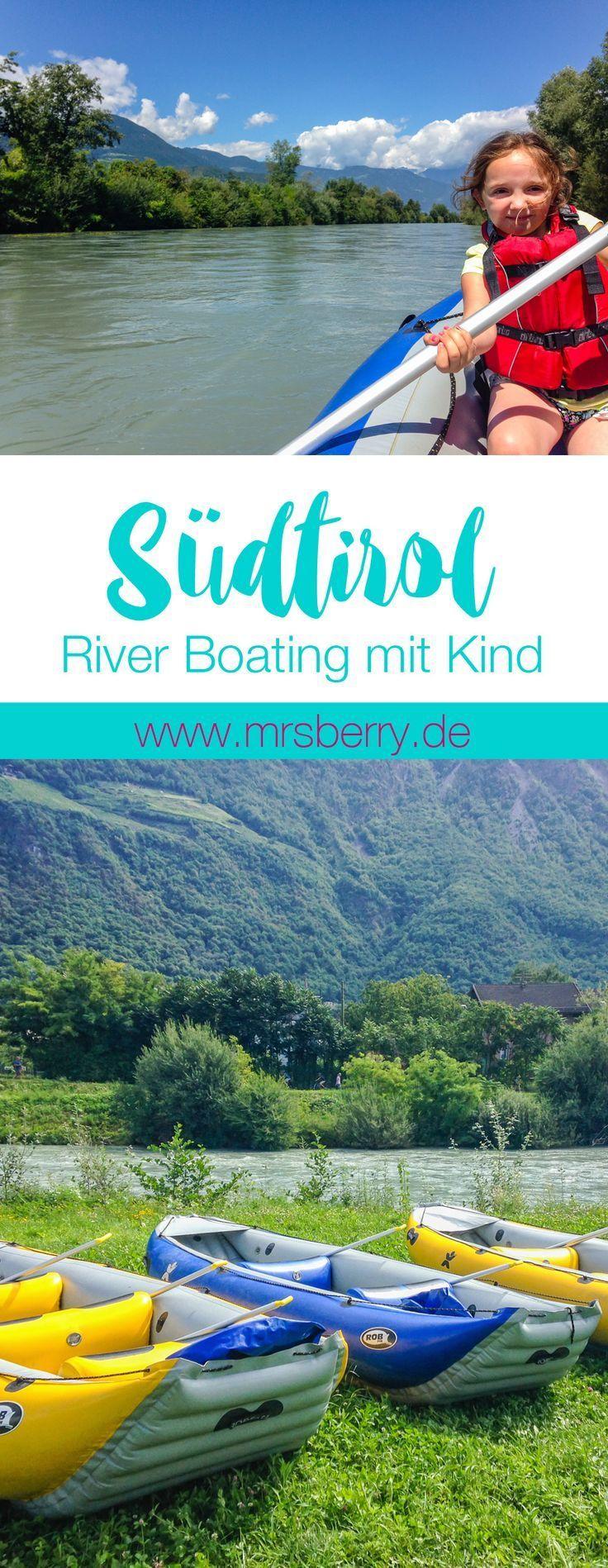 Südtirol mit Kind | River Boating auf der Etsch | MrsBerry Familien- & Reiseblog http://mrsberry.de