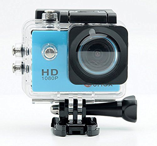 QUMOX Actioncam SJ4000, Action Sport Kamera Camera Waterproof, Full HD, 1080p Video, Helmkamera, Blau - http://kameras-kaufen.de/qumox/blau-qumox-actioncam-sj4000-action-sport-kamera