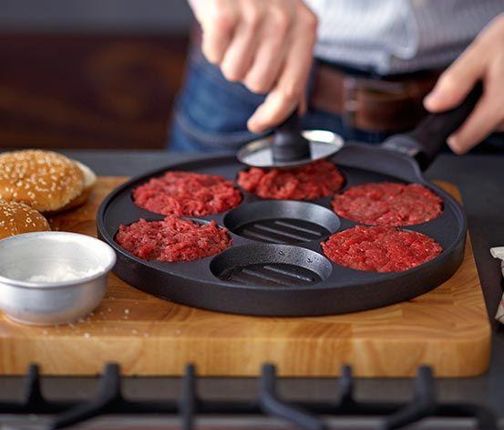 Aluguss-Burgerpfanne €14,95 #tchibo