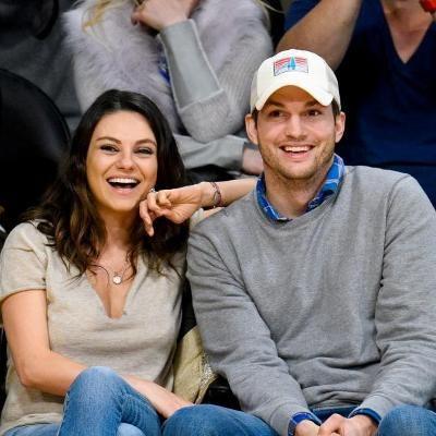 Buzzing: See Mila Kunis and Ashton Kutcher's Adorable Lederhosen Costumes #fashion