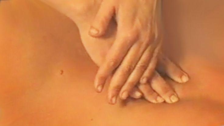 Обучение массажу в домашних условиях. Видео урок по массажу