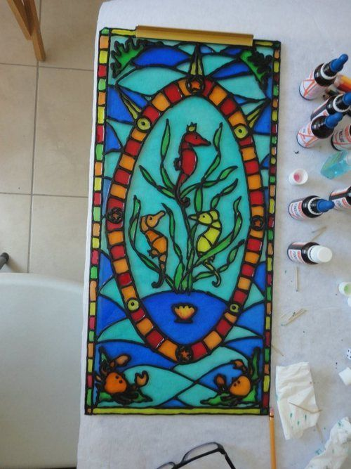 GALIXIA/STAINED GLASS on Behance