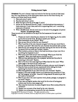Great gatsby essay questions and answers