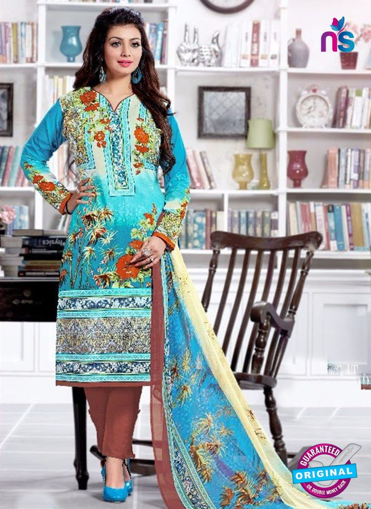 SC 13221 Blue and Brown Silk Crape Straight Suit #pakistanisalwarsuitsonine #pakistanisuitsonline #pakistanisalwarsuitsonlineshopping #pakistanisuitsonlineindia #BuyDesignerPakistaniSuits