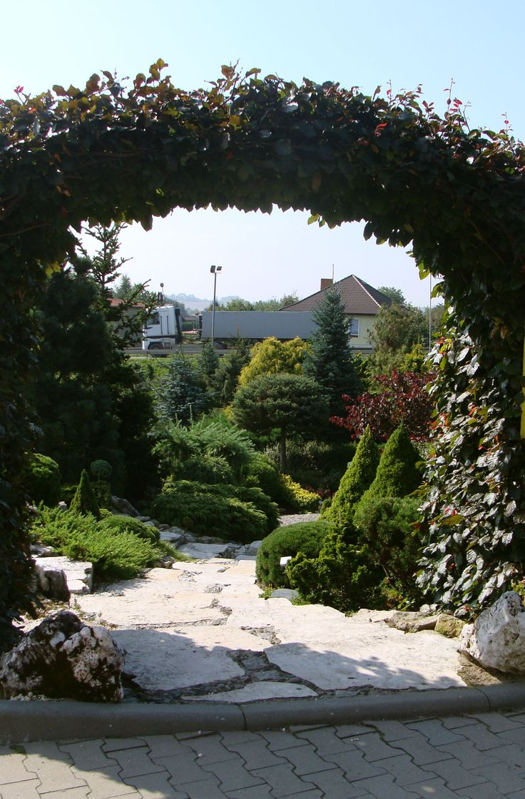Wejście na ogród