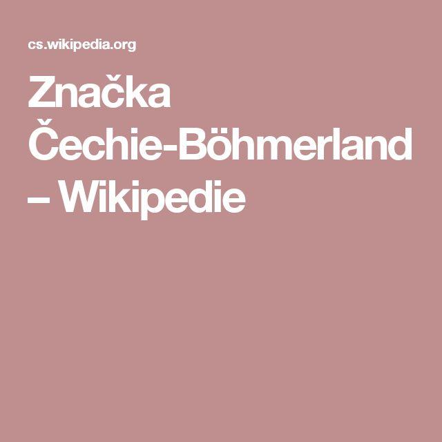 Značka Čechie-Böhmerland – Wikipedie
