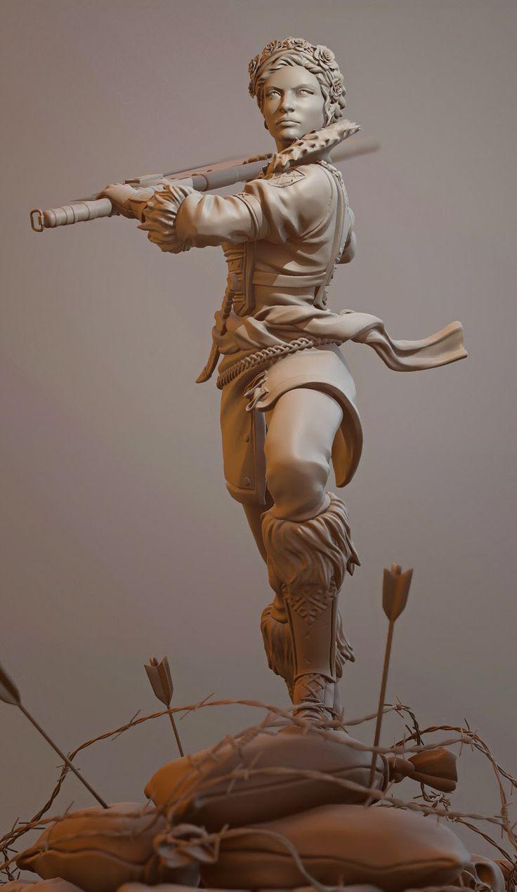 Jason Smith's Art Blog: Battlecry Game Statues