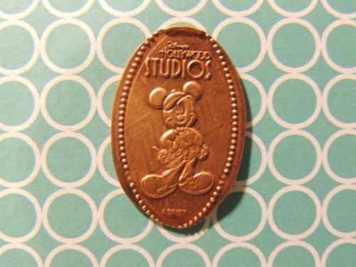 Elongated Penny Disney - DHS0055c - Movie Producer Mickey Mouse