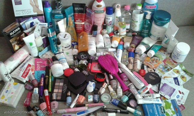 Nasze Testowanie: Opróżniamy nasze kosmetyczki - Co zawiera Twoja ko...