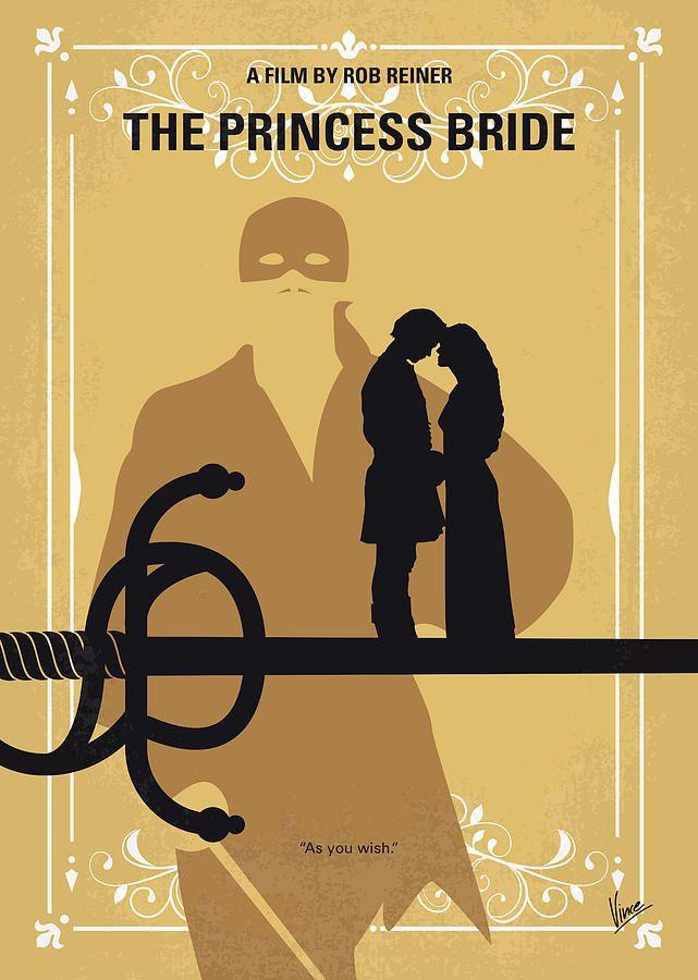 THE PRINCESS BRIDE INCONCEIVABLE Minimalist Movie Poster Minimal Posteritty