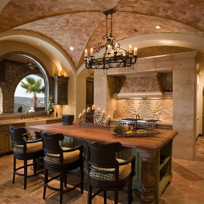 Mediterranean Kitchen Photos Design Ideas, Pictures, Remodel, And Decor    Page 2