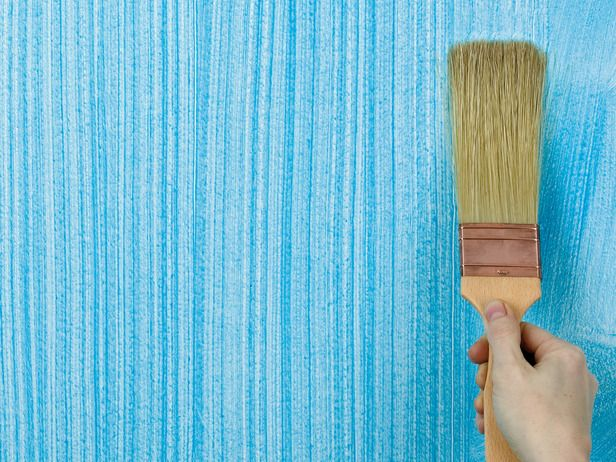 Photo Gallery: Paint Effects: This creates a coarse-lined, textured finish running either vertically or horizontally. Hold a long-bristled dragging brush at a low angle, then draw it in a continuous stroke down or across the glazed surface. This effect can be used on wood as well as walls. From DIYnetwork.com