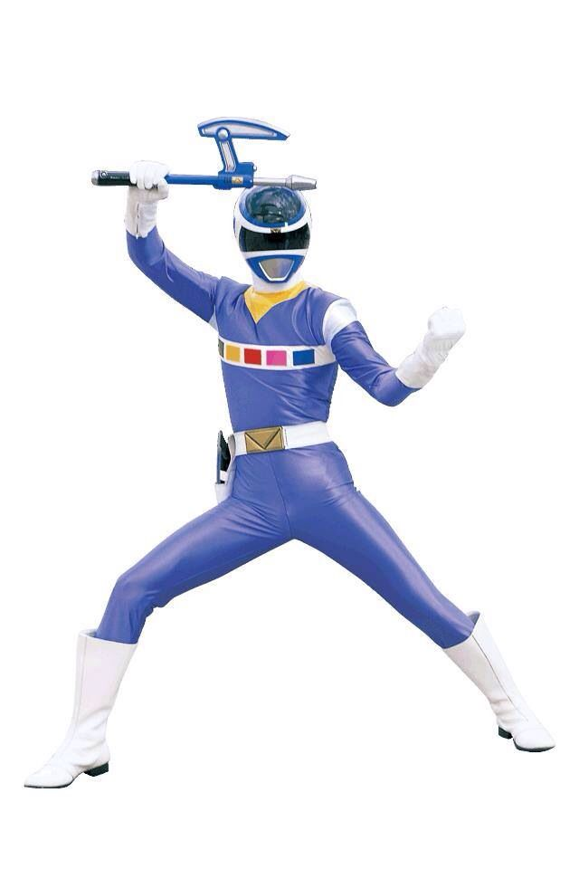 Power Rangers In Space - Blue Ranger