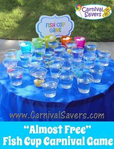 Fish Cup Carnival Game and 49+ MORE!