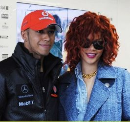 Entertainment News - Kenya - Singer Rihanna and F1 Lewis Hamilton dating?