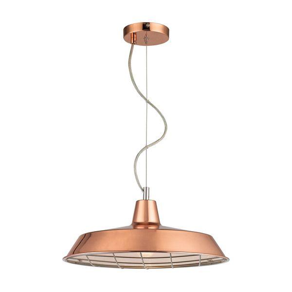 Sterling Home Ajax 1-light Pendant in Copper