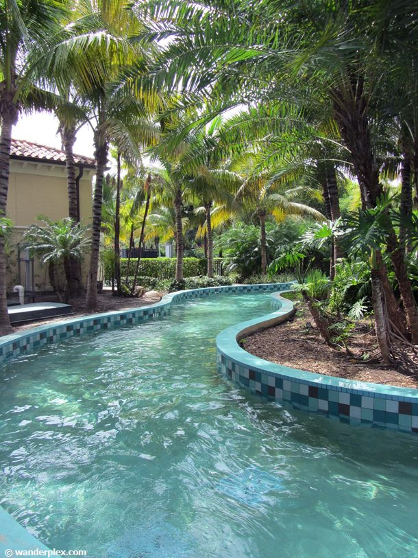 private lazy river pools - Google Search