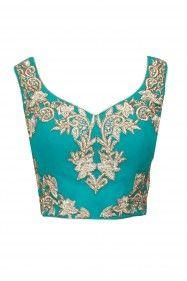 Shehla Khan saree or sari blouse design