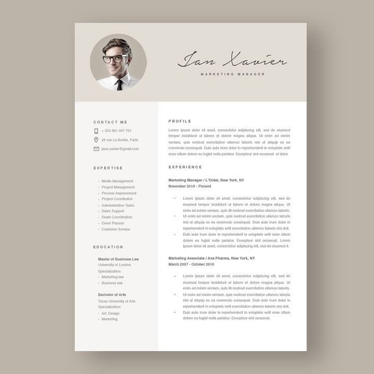 Las 25+ mejores ideas sobre New resume format en Pinterest - marketing resume formats