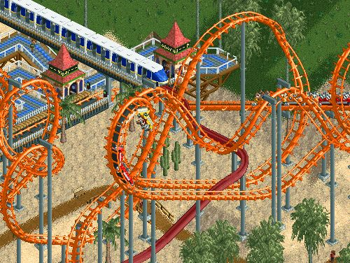 Things only roller-coaster tycoon players understand. So relatable.