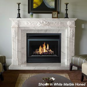 Fireplace Marble Mantles Addition Study Mstr Bedroom