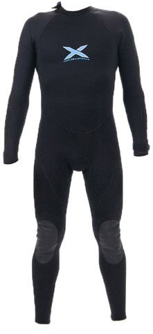 3mm L/S TITANIUM MEGA-STRETCH SEALED SEAM STEAMER WETSUIT | triple-x-wetsuits