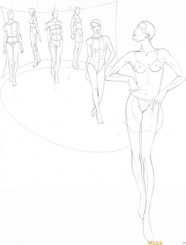 17 Best images about Body Fashion Sketches Pose on ...