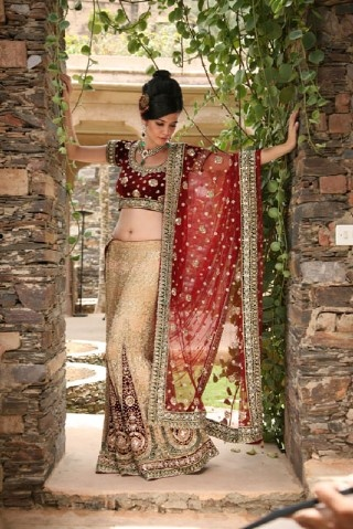 Indian Wedding Dress Check out more desings at: http://www.mehndiequalshenna.com/