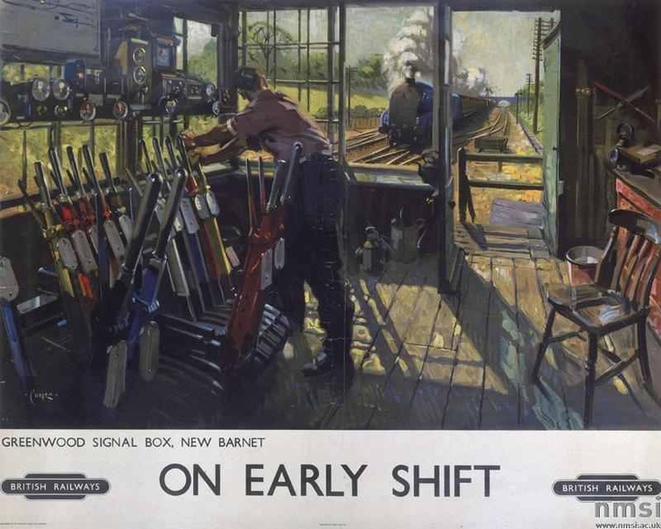 On Early Shift - Terence Cuneo