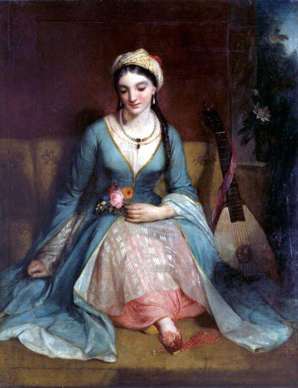 Henry William Pickersgill (1782-1875)-Greek maiden, 1829