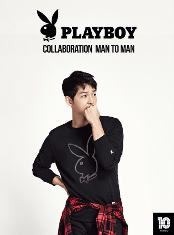 Song Joong Ki Models for Playboy Casual Wear in Latest CF Campaign | A Koala's Playground