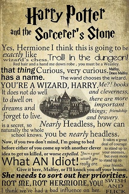 You never forget the first time you watched a Harry Potter movie. I cannot, however, ever remember when I began reading each of the books, because it was and is a series and a world that I love to fall into and get lost in. <3