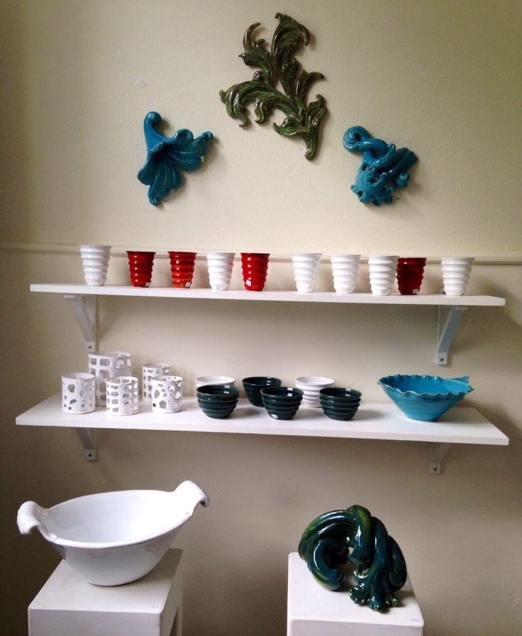 #lindaherrlin.se #keramik #utställning på #KAOS #konsthantverk i #SödraMellby