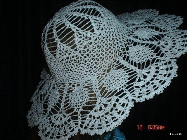 Lindo acessorio pro seu estilo praia, este chapeu de croche é show   Chapéu de crochê para adulto, veja ográficoabaixo