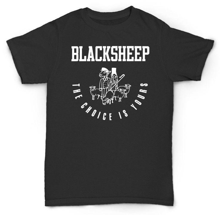 BLACK SHEEP T SHIRT TRIBE CALLED QUEST DE LA SOUL HIP Men T Shirt Hip Hop 100% Cotton Mans T-Shirt