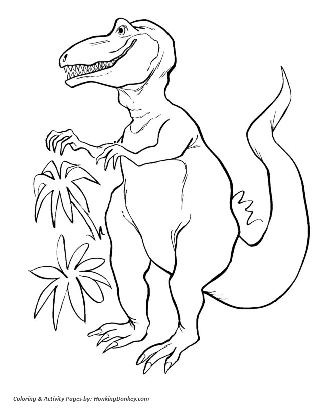 Baby Dinosaur Egg Coloring Pages Eliolera