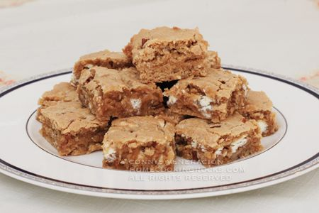 Blondies with white chocolate and pecans - How To Bake @ CASA Venerac ...