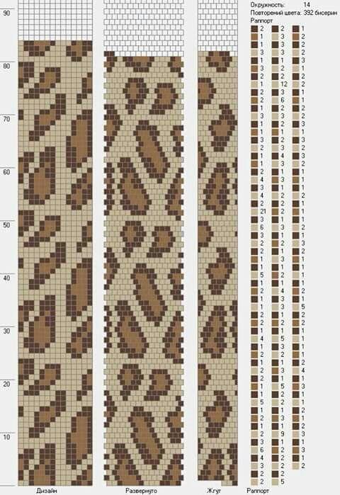 Wayuu Mochila pattern leopard